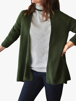 Pure Collection Cashmere Swing Cardigan