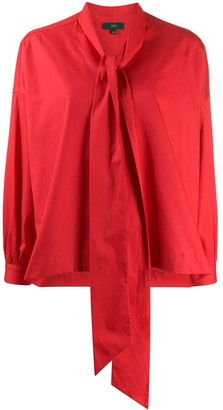 Jejia Pussy Bow Detailed Blouse