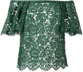 Valentino guipure lace top