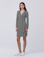 Diane von Furstenberg New Jeanne Two Silk Jersey Wrap Dress