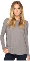 Alternative Eco Gauze Ramble Long Sleeve Tunic Women's Long Sleeve Pullover