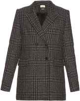 Etoile Isabel Marant Gilane double-breasted tweed jacket