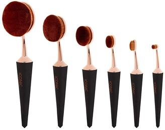 Iconic London ICONIC LONDON Black Complete Face 6 Brush Set