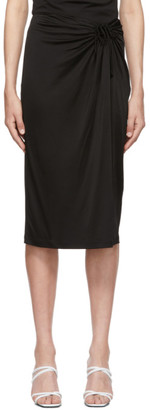Opening Ceremony Black Keyhole Skirt