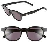 Salvatore Ferragamo Men's 866S 50Mm Sunglasses - Black
