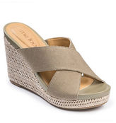 Me Too Athena Platform Wedge Sandals