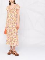 Thumbnail for your product : Rixo Jenna floral-print dress