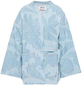 Acne Studios Olinda Embroidered Denim Jacket