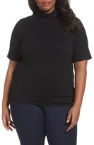 MICHAEL Michael Kors Plus Size Women's Mock Neck Top