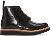 Grenson Black Sharp Boots