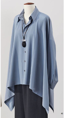 eskandar Silk Georgette Shirt