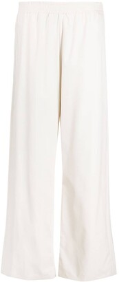 MM6 MAISON MARGIELA High-Waisted Flared Trousers