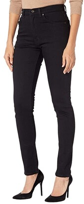 Naked & Famous Denim Max in Black Cashmere (Black) Women's Jeans