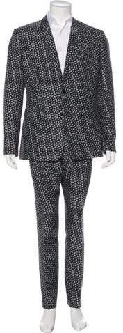 Christian Dior Floral Print Suit