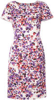 Carolina Herrera fitted floral dress
