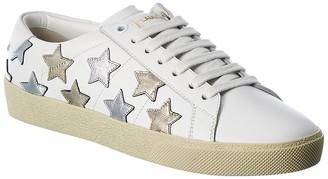 Saint Laurent Sl/06 Leather Sneaker