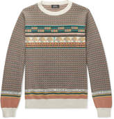 A.p.c. - Fair Isle Cotton Sweater