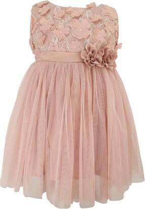 Popatu Floral Lace & Tulle Dress