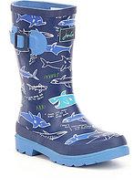 Joules Boys' Welly Shark Waterproof Rain Boots