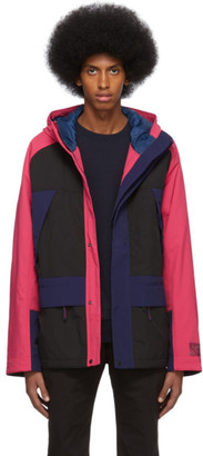Paul Smith Black and Pink Sport Parka
