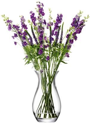 LSA International Flower Grand Posy Vase H32cm Clear