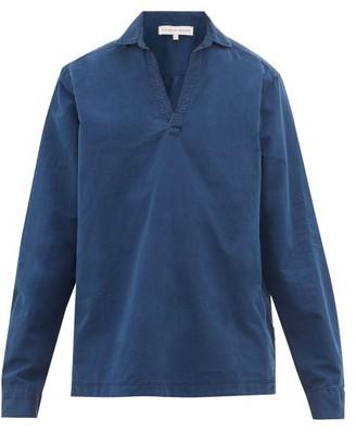 Orlebar Brown Ridley Cotton-twill Shirt - Mens - Blue
