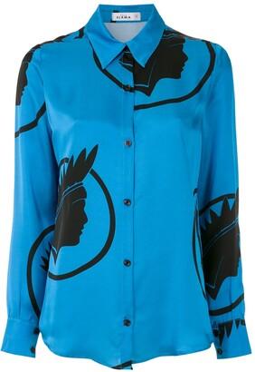 AMIR SLAMA silk Indio shirt