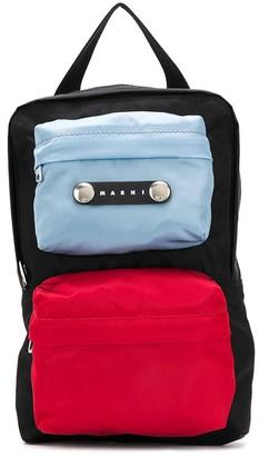 Marni Colour-Block Crossbody Bag