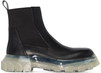Rick Owens Beetle ankle boots