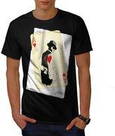 Ace Heart Hustler USA Casino Fun Men NEW XXXL T-shirt | Wellcoda