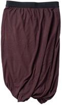 Alexander Wang Purple Cotton - elasthane Skirt for Women