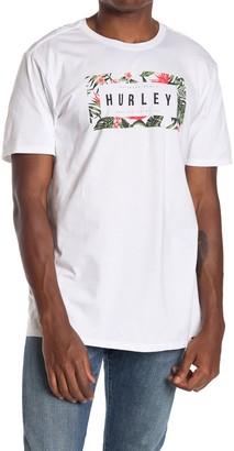Hurley Flashback Floral Short Sleeve T-Shirt