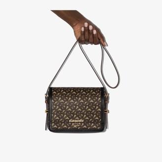 Burberry Grace monogram-print shoulder bag