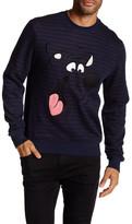 Eleven Paris ELEVENPARIS Graphic Printed Crewneck Sweater