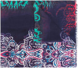 Etro printed scarf - men - Cashmere/Modal - One Size
