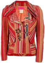 Christian Lacroix Vintage striped two piece suit