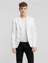 Calvin Klein Collection Bonded Cotton Self-Button Sport Coat