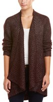 Michael Stars Mixed-stitch Wool-blend Cardigan.