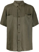 Transit short-sleeve fitted shirt
