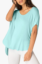 Beyond Yoga Scalloped Tee