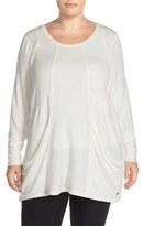 Melissa McCarthy Plus Size Women's Slouchy Pocket Tunic