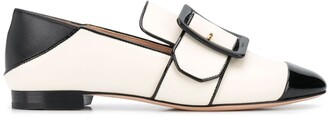 Bally Janelle buckled strap loafers