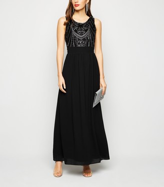 New Look Mela Sequin Maxi Dress