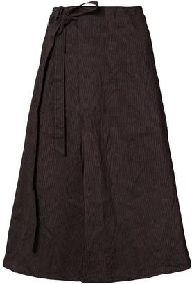 Forme D�expression Striped Side Tie Skirt