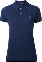Polo Ralph Lauren embroidered logo polo shirt - women - Cotton - M