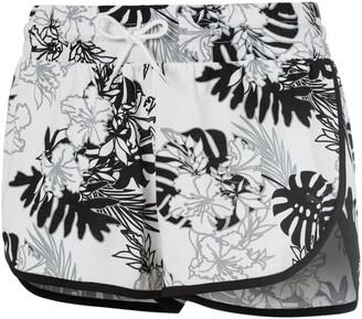 Puma Women's Summer Allover Print Shorts