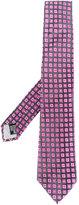 Armani Collezioni jacquard pattern tie