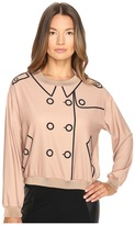 Moschino Crepe Button Blouse Women's Blouse