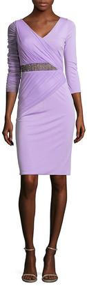 Versace Abito Donna V-Neck Dress