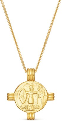Missoma Lucy Williams Caesar Coin Necklace